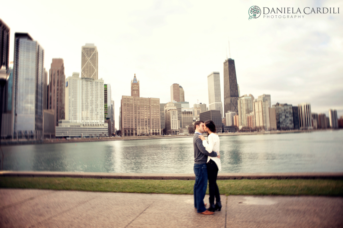 Olive Park Engagement Session, Chicago