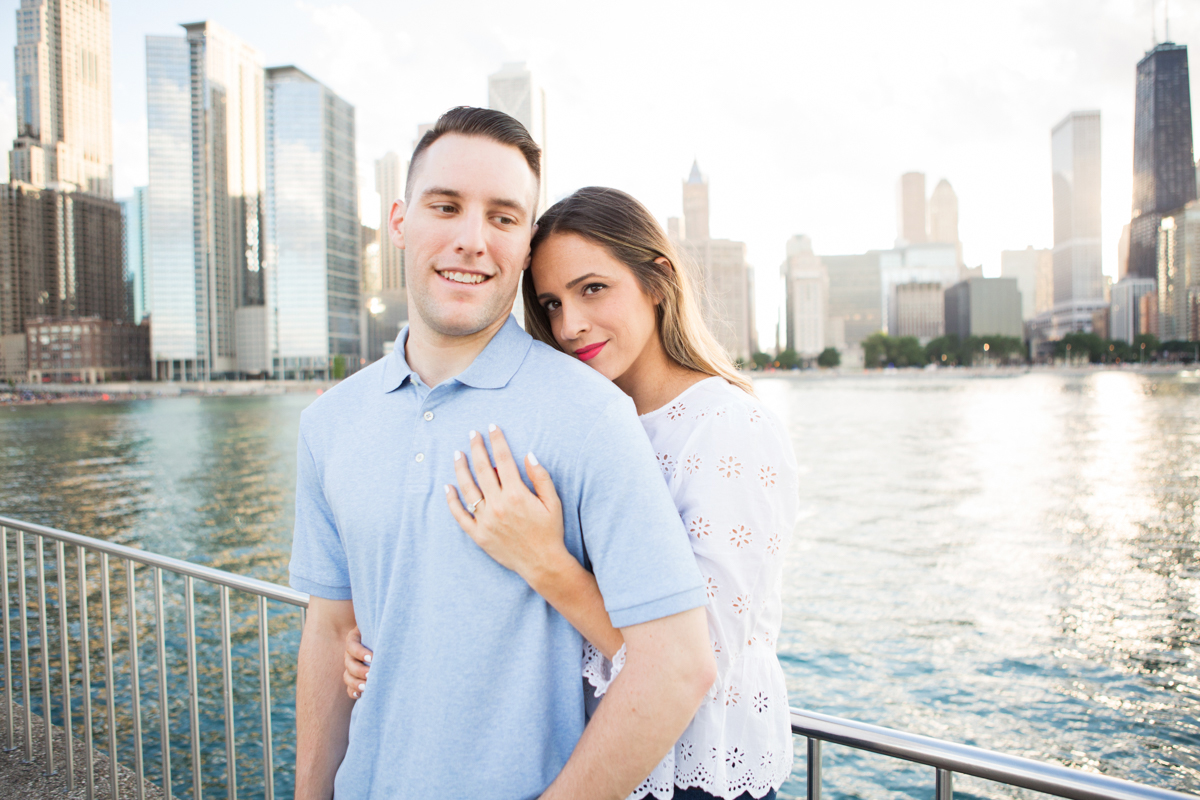Lurie Garden Engagement Session